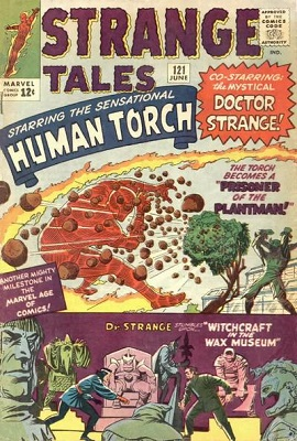 Strange Tales 121. Click for value