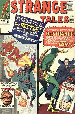 Strange Tales 123. Click for value