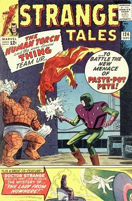 Strange Tales 124. Click for value