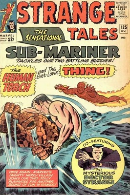 Strange Tales 125. Click for value