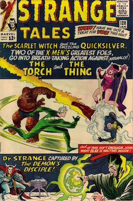 Strange Tales 128. Click for value