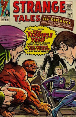 Strange Tales 129. Click for value