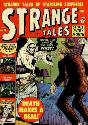 Strange Tales #13 precode horror comic. Click for values