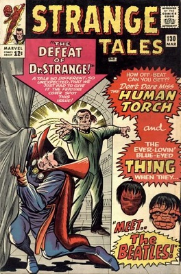 Strange Tales 130. Click for value