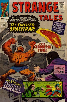 Strange Tales 132. Click for values