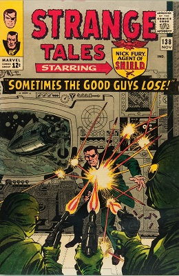 Strange Tales 138. Click for values