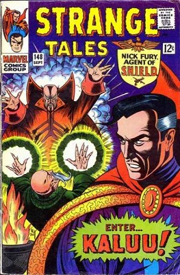 Strange Tales 148. Click for values
