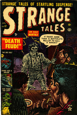 Strange Tales #17. Click for value