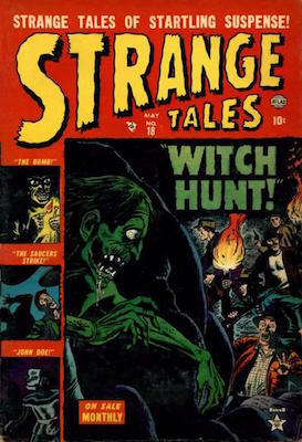Strange Tales #18. Click for values