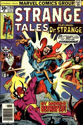 Strange Tales 188. Click for value