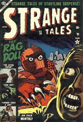 Strange Tales 19. Click for value