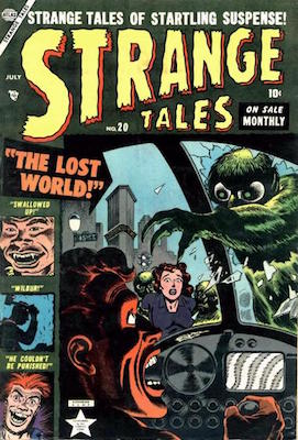 Strange Tales 20. Click for values