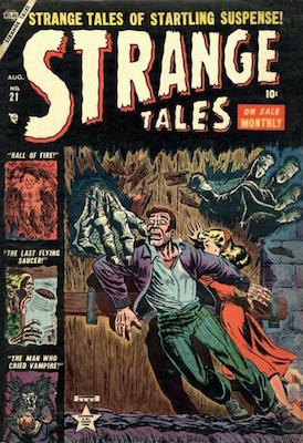 Strange Tales 21. Click for value