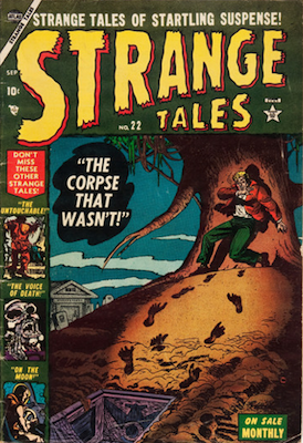 Strange Tales 22. Click for value