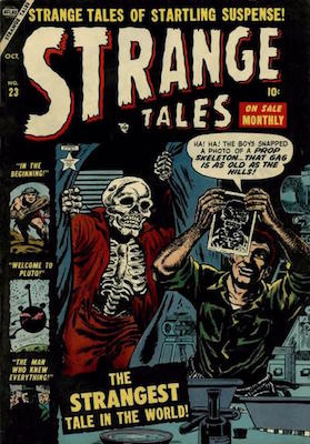Strange Tales 23. Click for value