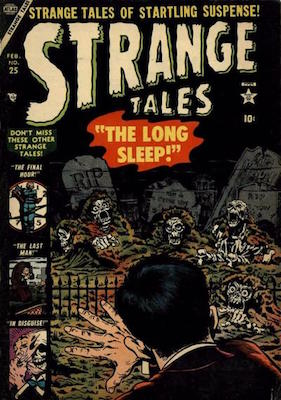 Strange Tales 25. Click for value
