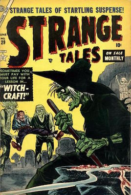 Strange Tales 29. Click for value