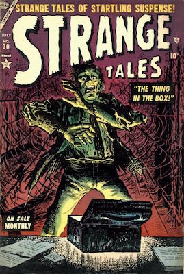 Strange Tales 30. Click for values