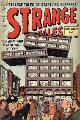 Strange Tales 31. Click for values