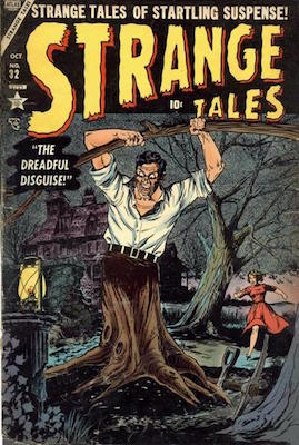 Strange Tales 32. Click for value