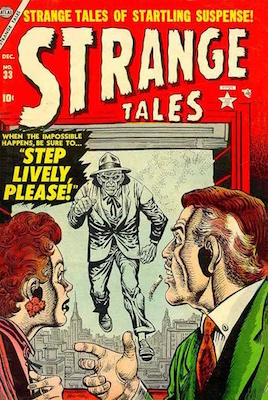 Strange Tales 33. Click for value