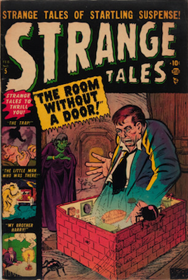 Strange Tales #5 click for value