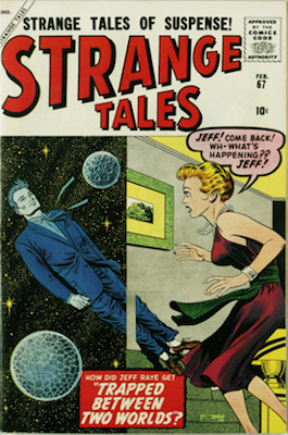 Strange Tales 67: Quicksilver prototype issue. Click for value