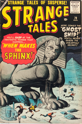 Strange Tales 70: Giant-Man prototype. Click for value