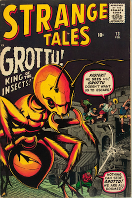 Strange Tales 73: Ant-Man tryout. Click for value
