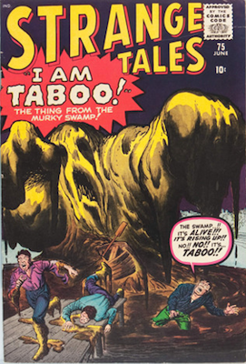 Strange Tales 75: Iron Man tryout. Click for value