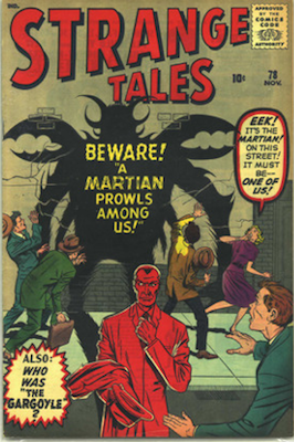 Strange Tales 78: another Ant-Man prototype issue. Click for value