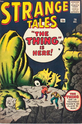 Strange Tales 79: Dr Strange tryout issue. Click for value
