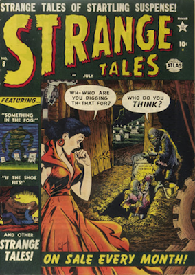 Strange Tales 8. Click for value