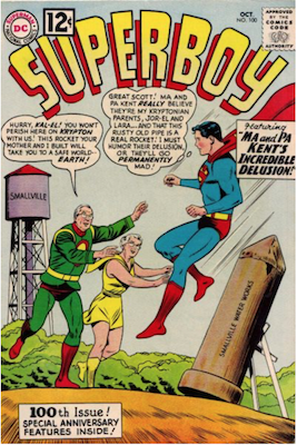 Superboy #100. Click for current values.