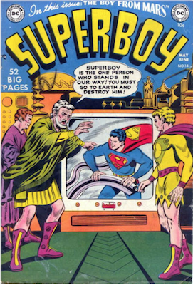 Superboy #14. Click for current values.
