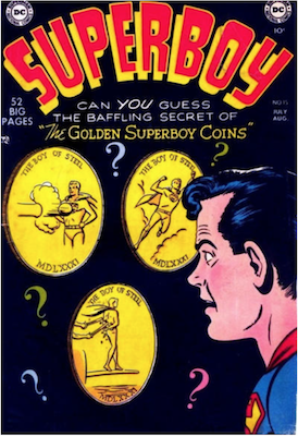 Superboy #15. Click for current values.