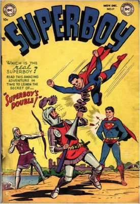 Superboy #17. Click for current values.
