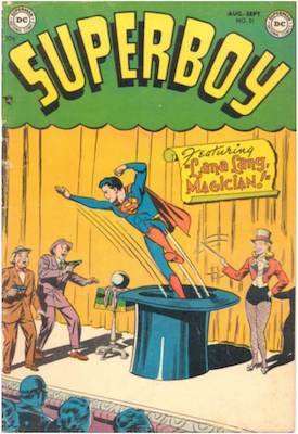 Superboy #21. Click for current values.