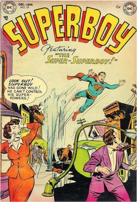 Superboy #23. Click for current values.