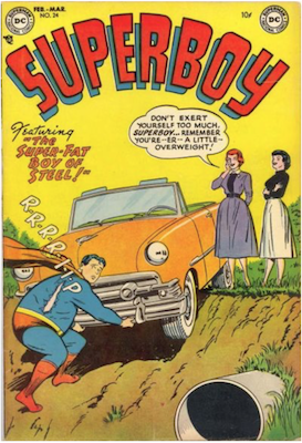 Superboy #24. Click for current values.