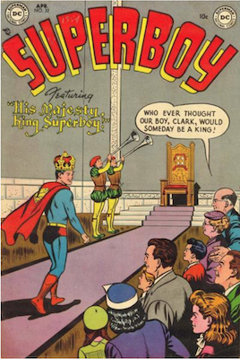 Superboy #32. Click for current values.