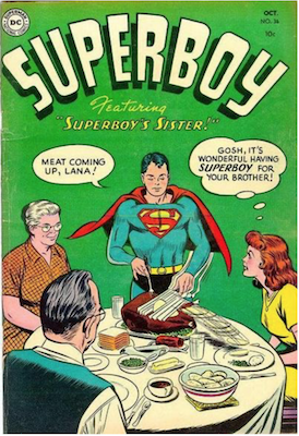Superboy #36. Click for current values.