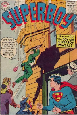 Superboy #39. Click for current values.