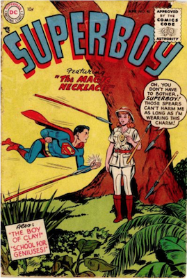 Superboy #40. Click for current values.