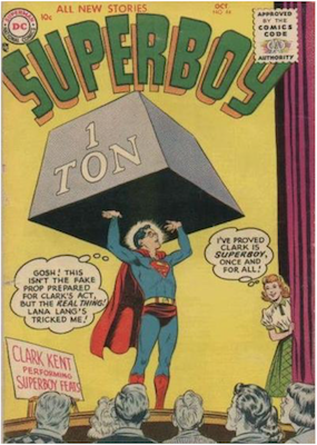 Superboy #44. Click for current values.