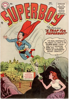Superboy #45. Click for current values.