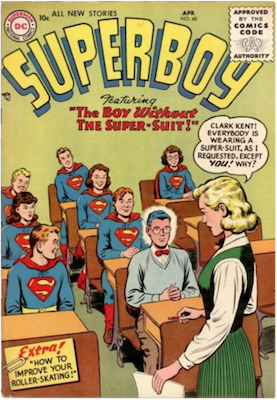 Superboy #48. Click for current values.