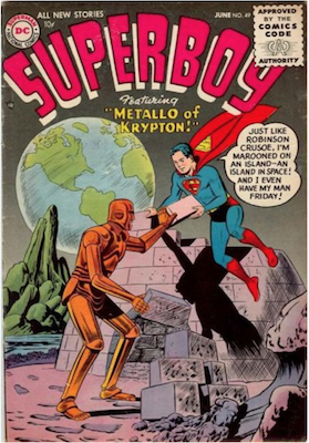 Superboy #49. Click for current values.