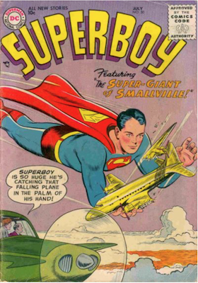 Superboy #50. Click for current values.