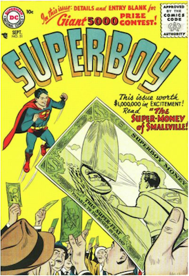 Superboy #51. Click for current values.